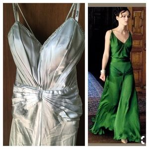 Mint 1930s inspired gown